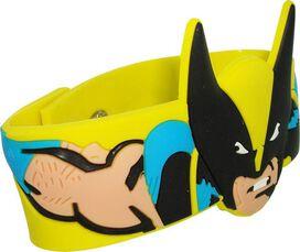X Men Wolverine Head Rubber Wristband