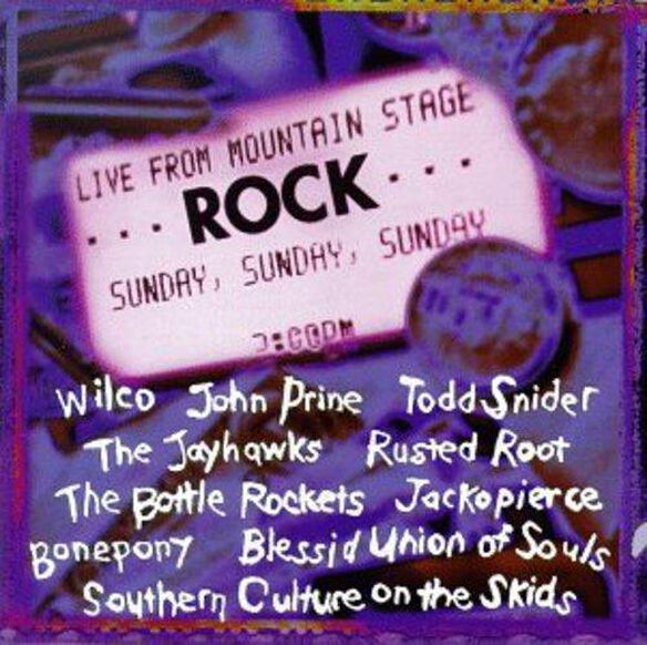 Mountain Stage: Rock Live / Various (Uk)