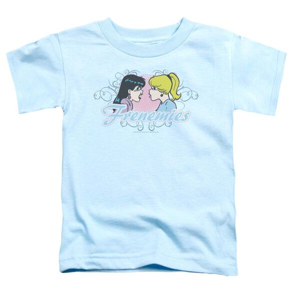 Archie Comics Frenemies Short Sleeve Toddler Tee Light Blue Md T-Shirt