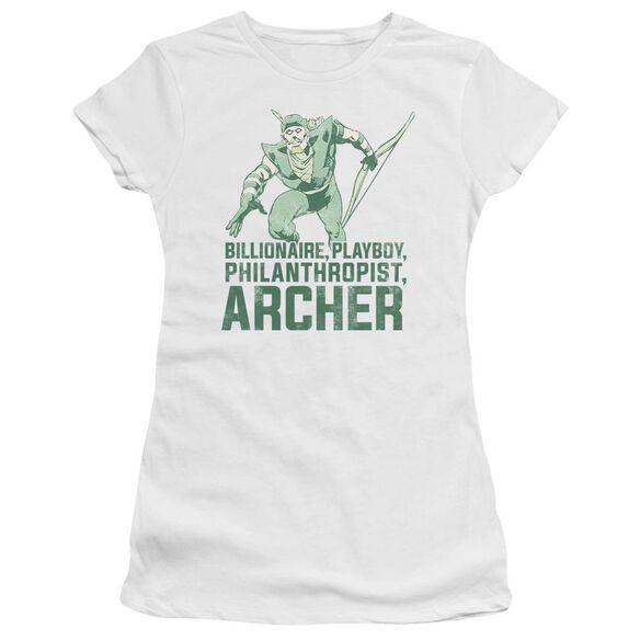 Dc Archer Short Sleeve Junior Sheer T-Shirt