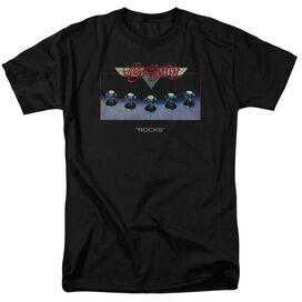 Aerosmith Rocks Short Sleeve Adult T-Shirt