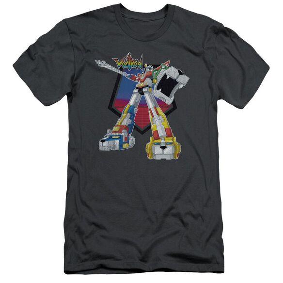 Voltron Blazing Sword Short Sleeve Adult T-Shirt