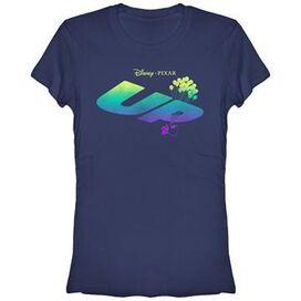Up Logo Fade Juniors T-Shirt