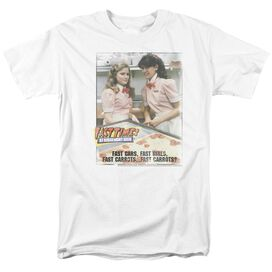 FAST TIMES RIDGEMONT HIGH FAST CARROTS - S/S ADULT 18/1 - WHITE - MD - WHITE T-Shirt