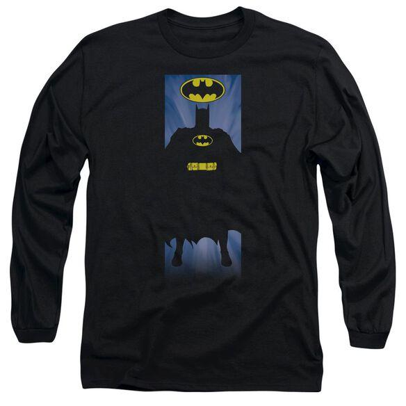 Batman Batman Block Long Sleeve Adult T-Shirt