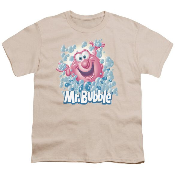 Mr Bubble Modern Bubble Short Sleeve Youth T-Shirt