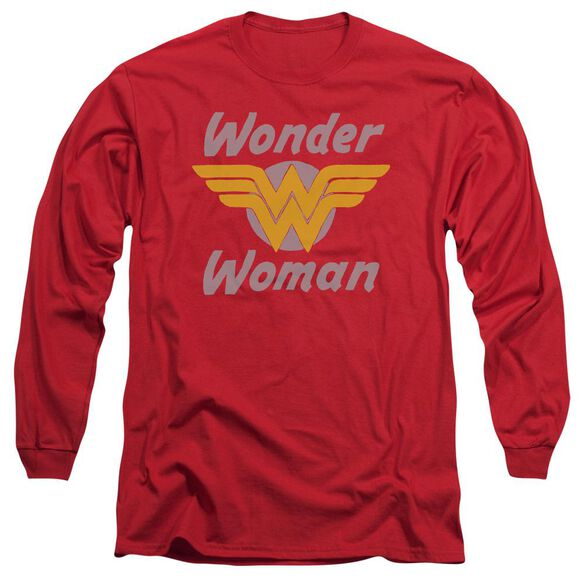 Dc Wonder Wings Long Sleeve Adult T-Shirt