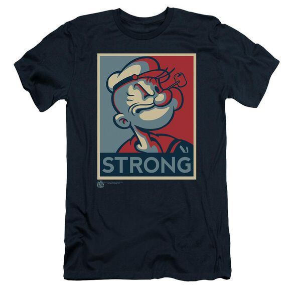 POPEYE STRONG - S/S ADULT 30/1 - NAVY T-Shirt