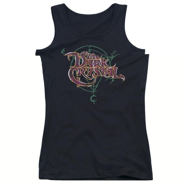 DARK CRYSTA YMBOL LOGO - JUNIORS TANK TOP - BLACK T-Shirt