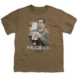 Ncis Mcgeek Short Sleeve Youth Safari T-Shirt