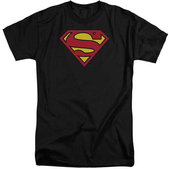 Superman Classic Logo Short Sleeve Adult Tall T-Shirt