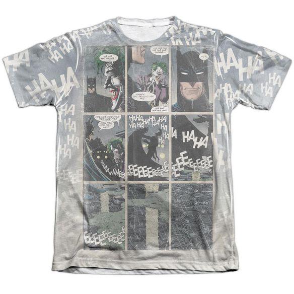 Batman Last Laugh Adult Poly Cotton Short Sleeve Tee T-Shirt