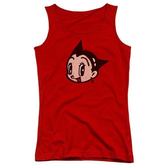 Astro Boy Face Juniors Tank Top