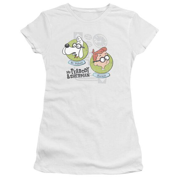Mr Peabody & Sherman Gadgets Premium Bella Junior Sheer Jersey
