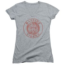 Saved By The Bell Tigers Junior V Neck Athletic T-Shirt
