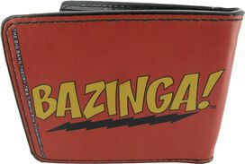 Big Bang Theory Bazinga Text Wallet