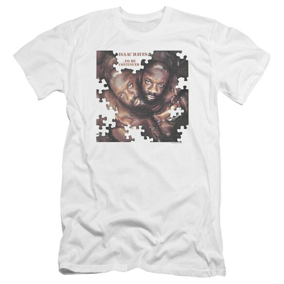 Isaac Hayes To Be Continued Premuim Canvas Adult Slim Fit