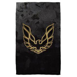 Pontiac Galvanized Firebird Towel White