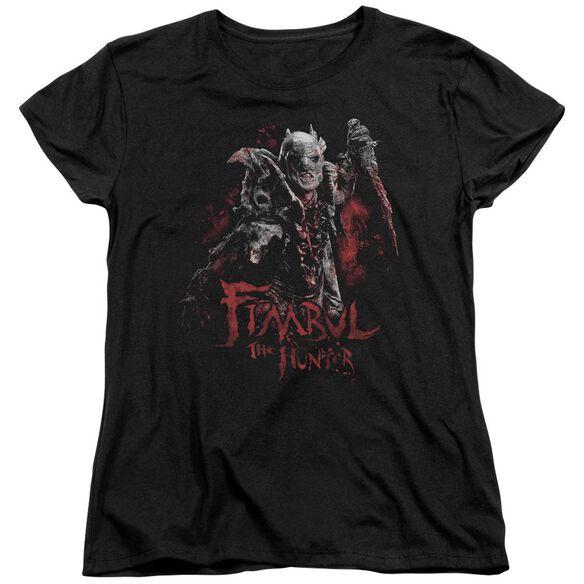 The Hobbit Fimbul The Hunter Short Sleeve Womens Tee T-Shirt