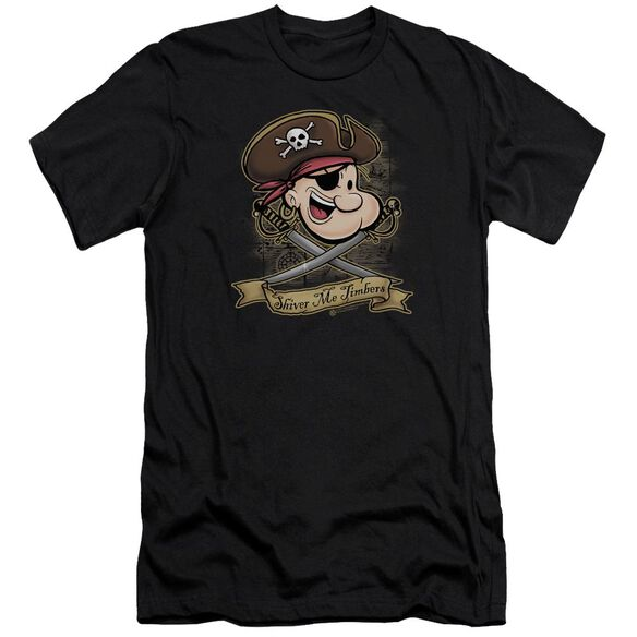 Popeye Shiver Me Timbers Premuim Canvas Adult Slim Fit