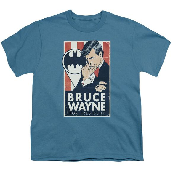 Batman Wayne For President Short Sleeve Youth T-Shirt