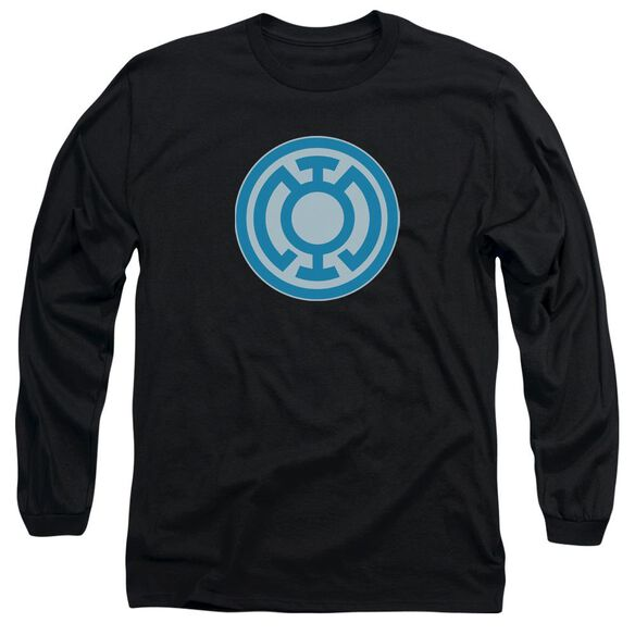 Green Lantern Blue Symbol Long Sleeve Adult T-Shirt