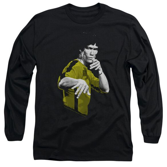 Bruce Lee Suit Of Death Long Sleeve Adult T-Shirt