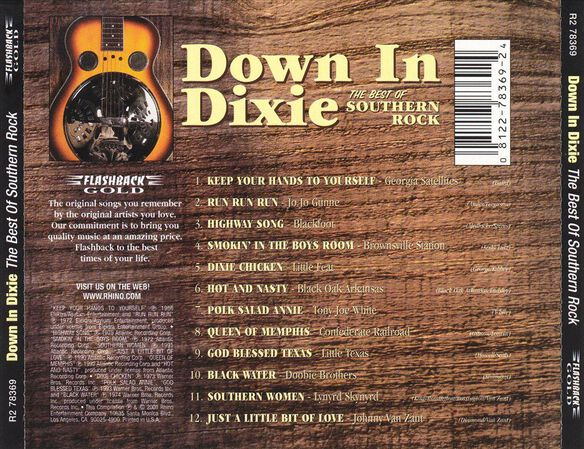 Down In Dixie Best Of Sou