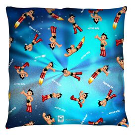 Astro Boy Pattern Throw