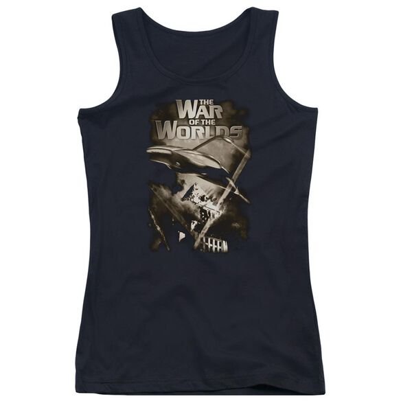 War Of The Worlds Death Rays Juniors Tank Top