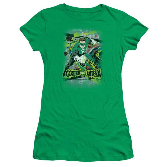 DC SPACE SECTOR 2814 - S/S JUNIOR SHEER - KELLY GREEN T-Shirt