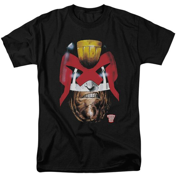 Judge Dredd Dredd's Head Short Sleeve Adult T-Shirt