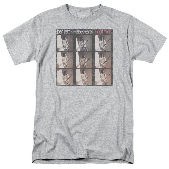 Joan Jett Good Music Short Sleeve Adult Athletic T-Shirt