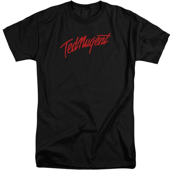 Ted Nugent Distress Logo Short Sleeve Adult Tall T-Shirt