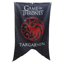 Game of Thrones House Targaryen Sigil Banner