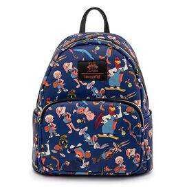 Loungefly Space Jam Legacy All Over Print Mini Backpack
