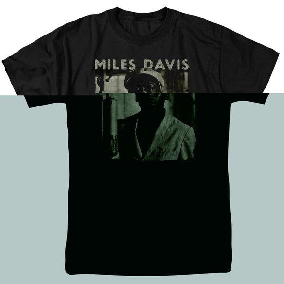 Miles Davis Miles Portrait Short Sleeve Adult T-Shirt
