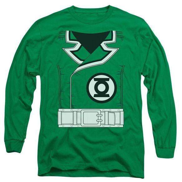 Lantern Guy Gardner Long Sleeve Adult Kelly T-Shirt