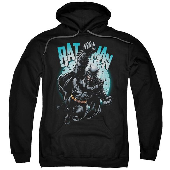 Batman Moon Knight Adult Pull Over Hoodie