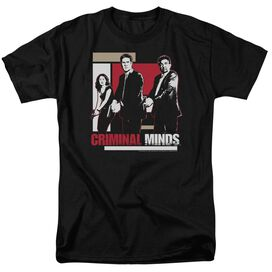 CRIMINAL MINDS GUNS DRAWN-S/S T-Shirt