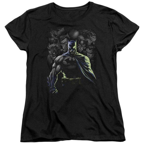 Batman Villains Unleashed Short Sleeve Womens Tee T-Shirt
