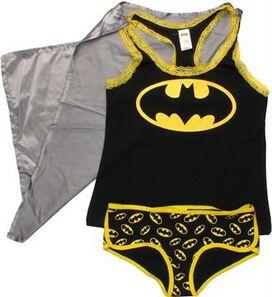 Batman Caped Tank and Briefs Junior Pajama Set