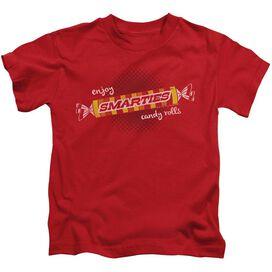 Smarties Enjoy Short Sleeve Juvenile Red T-Shirt