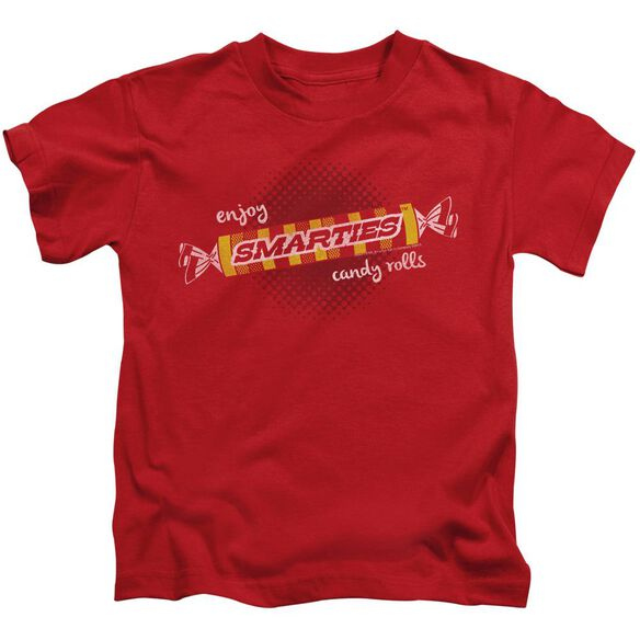 Smarties Enjoy Short Sleeve Juvenile Red T-Shirt