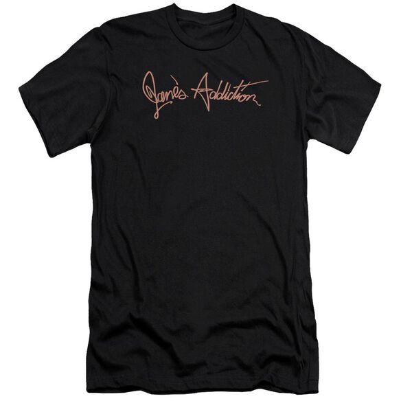 Janes Addiction Script Logo Premuim Canvas Adult Slim Fit