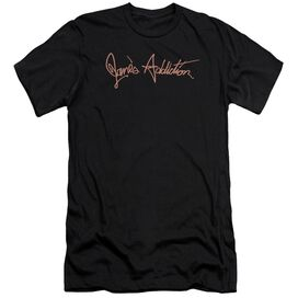Janes Addiction Script Logo Short Sleeve Adult T-Shirt