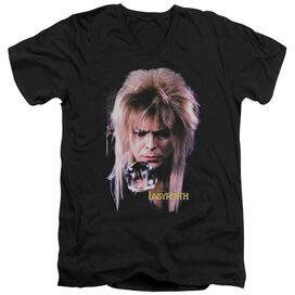 Labyrinth Goblin King Short Sleeve Adult V Neck T-Shirt