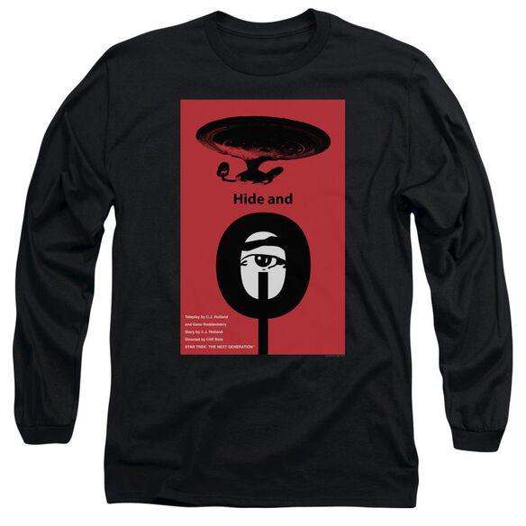 Star Trek Tng Season 1 Episode 10 Long Sleeve Adult T-Shirt