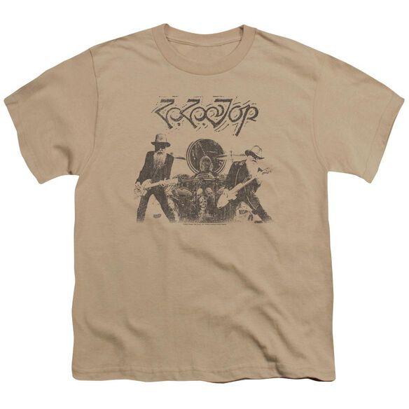 Zz Top First Album Short Sleeve Youth T-Shirt