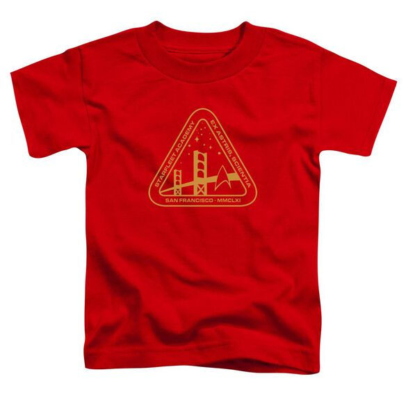 Star Trek Gold Academy Short Sleeve Toddler Tee Red Sm T-Shirt